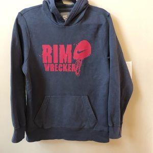 Nike gray hoodie EUC